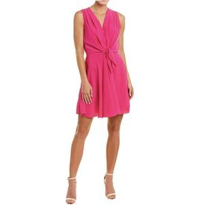 A By Amanda Uprichard A-Line Dress Women's Pink XL